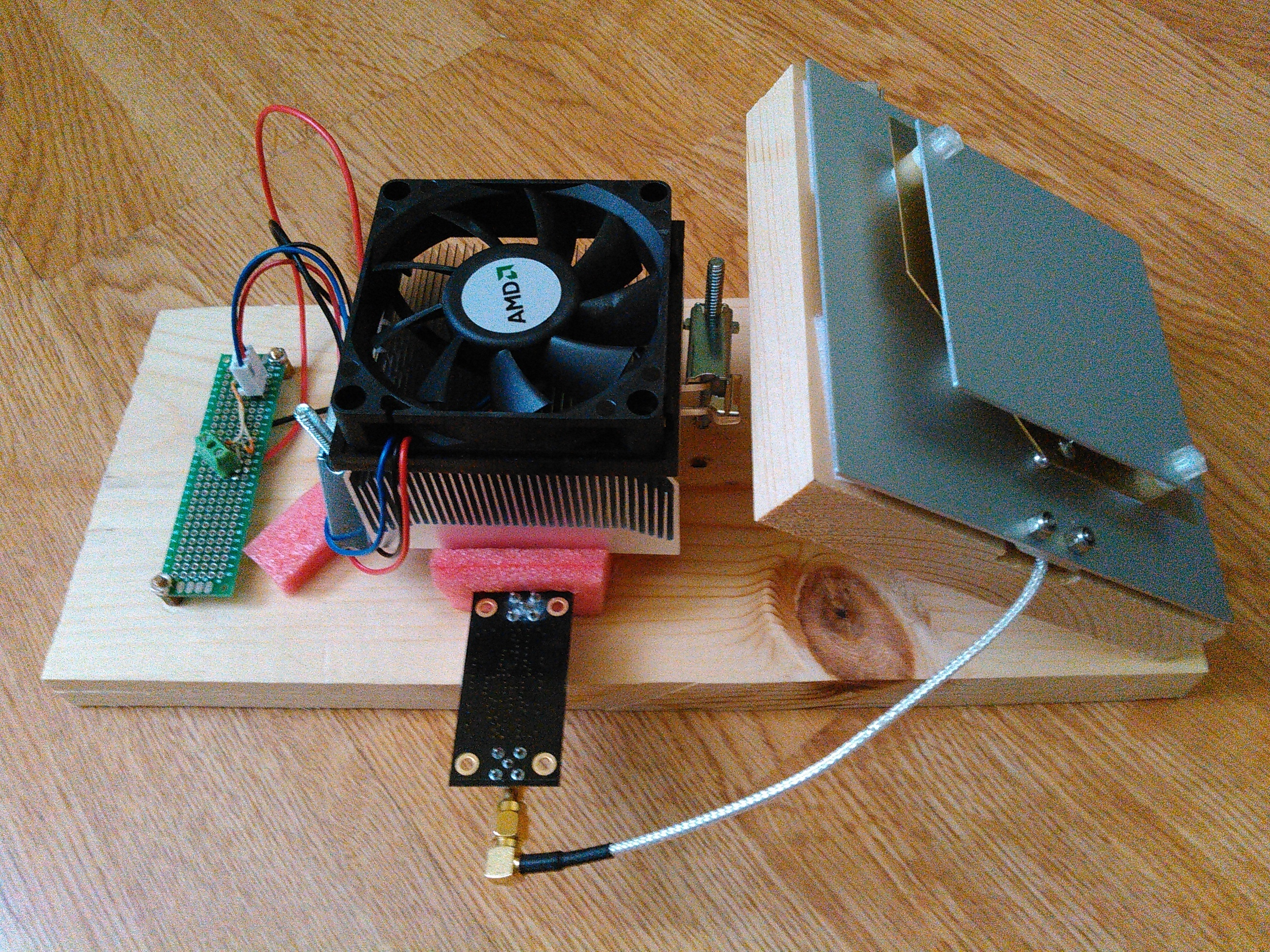 Reduce noise and increase radio sensitivity with Frosty SDR